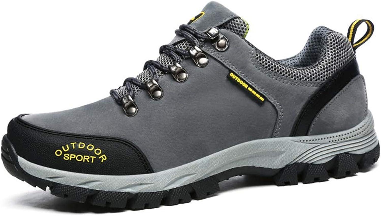 Giles Jones Men's Climbing shoes Breathable Slip Resistant Shockproof Hiking shoes