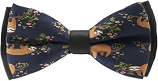 New Fashion Men Beautiful Sunset Sunflowers Bow Tie Party Banquet Bowtie Wedding Accessories