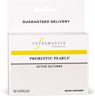 Integrative Therapeutics - Probiotic Pearls - Lactobacillus Acidophilus Probiotic - Non-Refrigerated with Patented True Delivery Technology - 90 Capsules