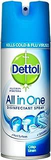 Dettol Disinfectant Spray - 400 ml (Crisp Linen)