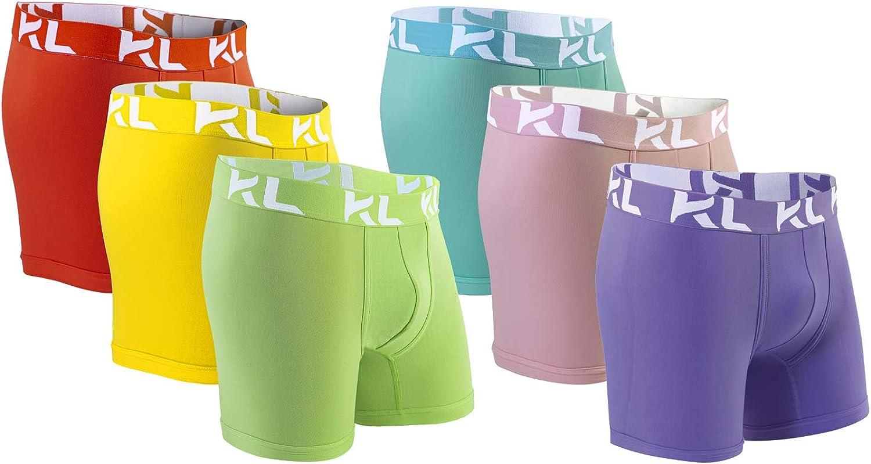 KL Mens Underwear Boxer Briefs 32 Cool Mens Underwear Color Ways Multipack Value 6 Pack