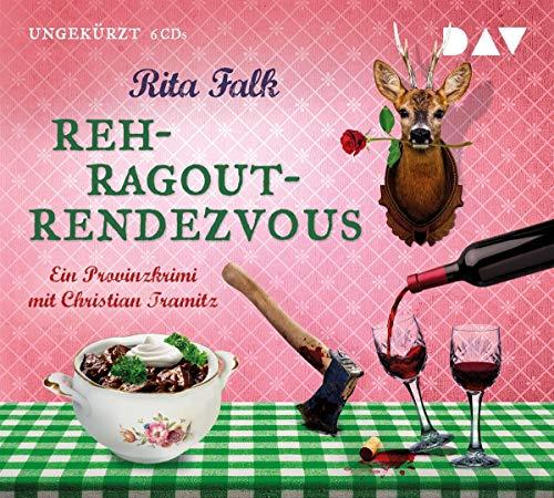 Buchseite und Rezensionen zu 'Rehragout-Rendezvous: Der elfte Fall für den Eberhofer. Ein Provinzkrimi. Ungekürzte Lesung mit Christian Tramitz (6 CDs) (Franz Eberhofer)' von Rita Falk