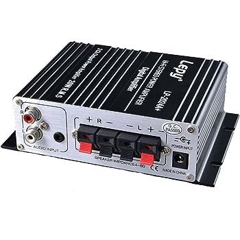 Lepy デジタルアンプ LP-2024A + Tripath TA2024 + 12V 5Aアダプター付属
