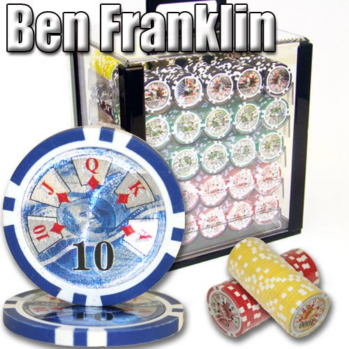 1000 acrylic poker case - 7