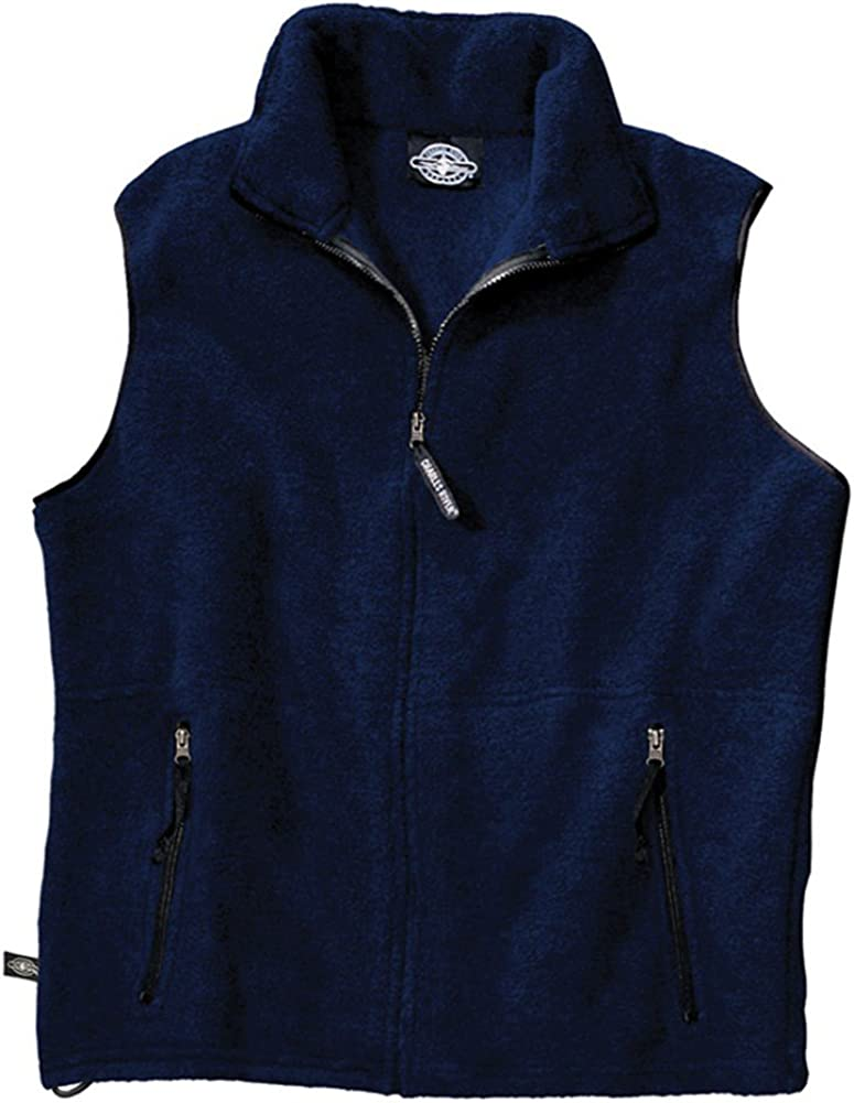 Charles River Apparel Men's High quality Special price for a limited time Ridgeline Small Fleece Vest Navy
