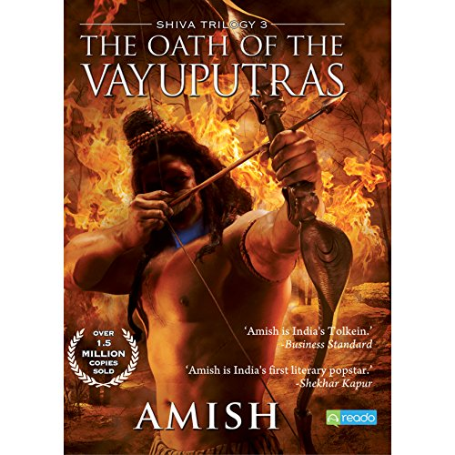 The Oath of the Vayuputras audiobook cover art