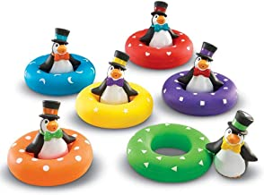 Learning Resources LER7308 Smart Splash Color Play Penguins (12 Piece)