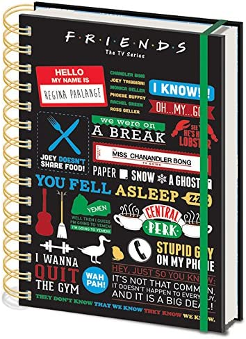 4. Friends Infographic Notebook