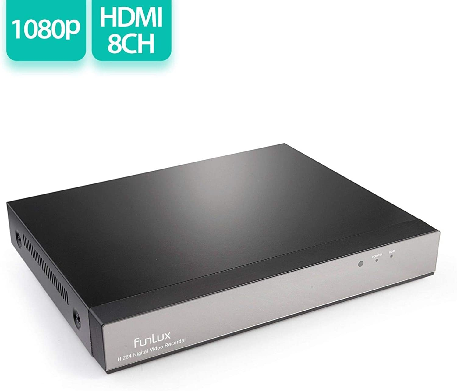 Funlux NS-S81A-S 8 Channel H.264 720p 1TB 25% Selling OFF HD HDD with NVR