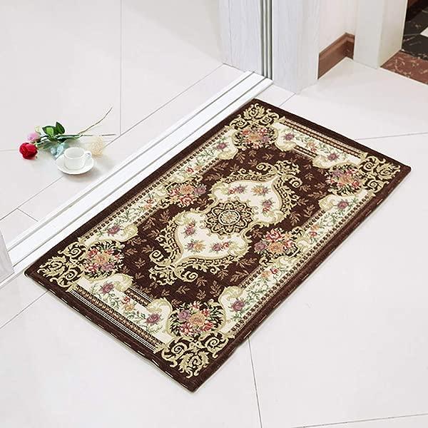 LIUCS 地毯垫机器纺织清洁防滑防静电走廊过道走廊家居装饰地毯 50厘米 x 80厘米