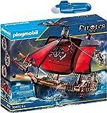 geobra Brandstätter PLAYMOBIL® Pirates Set de 2 Juegos 70411 5159 Barco Pirata Calavera + Motor Submarino