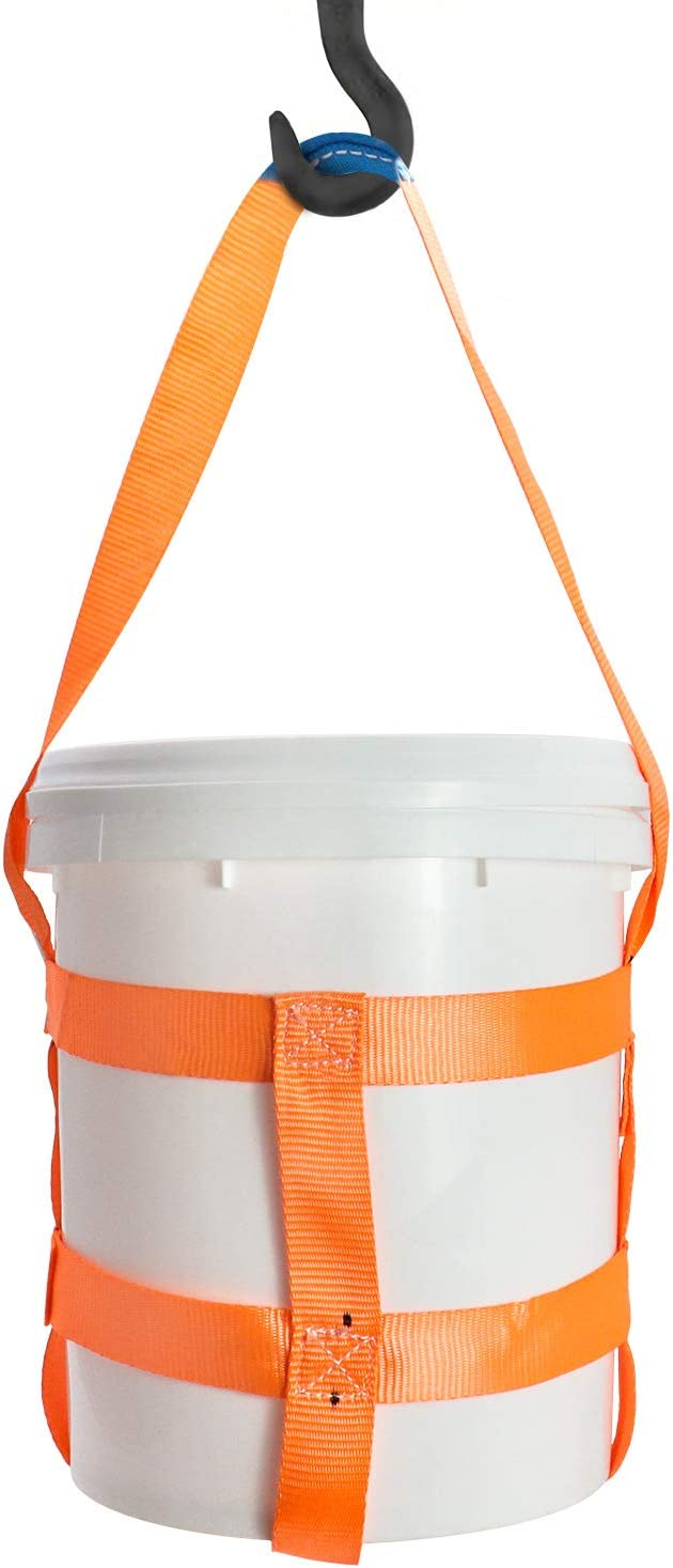 QWORK half Durable 2021 Bucket Sling with 5 Bands Belly Gallon for