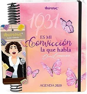 Agenda Anual 2020 Clara Campoamor Convicción: Amazon.es ...