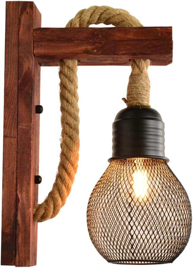 OSALADI Rope Pendant Light Vintage Fabric Max 48% OFF Max 86% OFF Kit Retro L