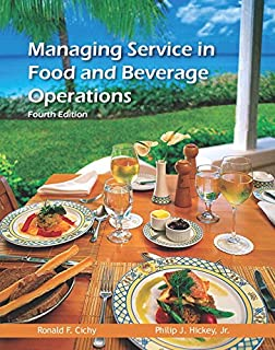 Managing Service in Food and Beverage Operations with Answer Sheet (AHLEI) & Managing Service in F&B Operations Online Com...