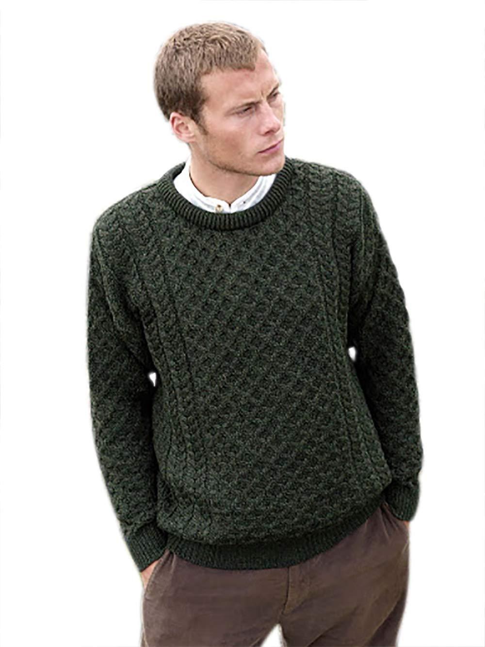 Best Buy 100% Soft Irish Merino Wool Crew Neck Sweater by West End Knitwear Reviews
