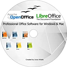 Apache Open Office y Libreoffice 2019 última edición completa para TODOS Windows y mac | Alternativa a Microsoft Office: Compatible con Word, Excel y PowerPoint