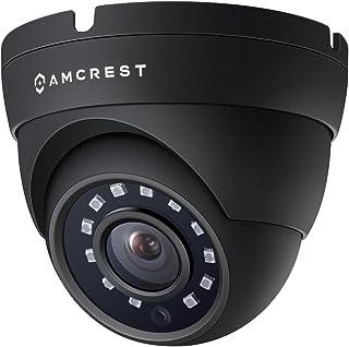Amcrest Full HD 1080P 1920TVL Dome Outdoor Security Camera (Quadbrid 4-in1 HD-CVI/TVI/AHD/Analog), 2MP 1920x1080, 98ft Night Vision, Metal Housing, 3.6mm Lens 90� Viewing Angle, Black (AMC1080DM36-B)