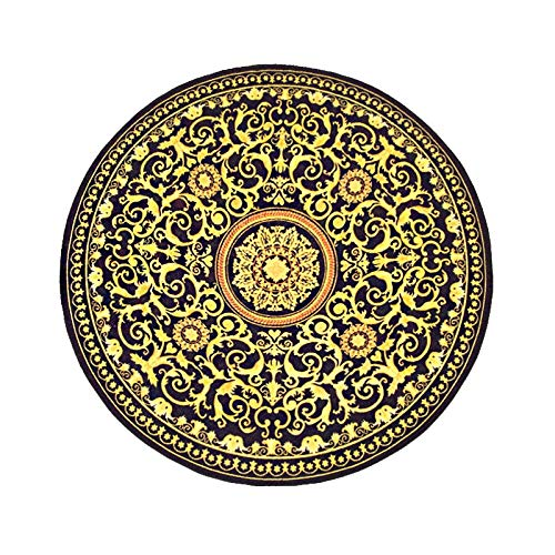 Learn More About CarPet Dirty Round Ethnic Style Living Room Non-Slip Round Blanket (Size : 100100cm...