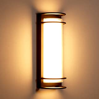 Anonry Applique Murale Exterieur/Interieur LED 30W Étanche IP65 En Aluminium Anthracite Eclairage Décoration Lumière 3000K...