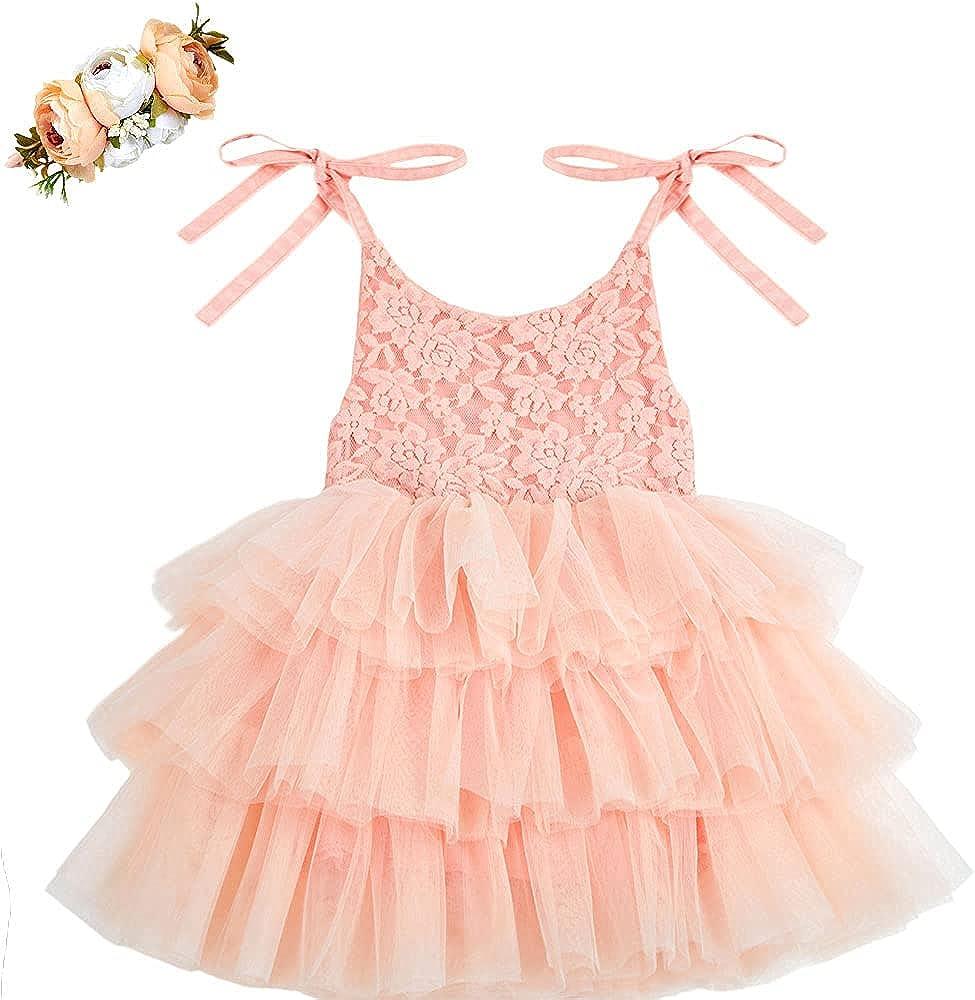 Cilucu Infant Girls Dress Tutu Prince Baby Spaghetti Max 64% OFF Strap High material