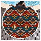 PENGDDP Toalla Viaje Yoga O BañoToalla Gym Toallas PlayaToallas Baño Calidad Gigante Secado Rapido para Piscina Toalla Microfibra PeloToallas Playa Toallas Pestemal(Size:Diameter: 150cm,Color:5)