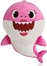 Baby Shark- Peluche Musical Mommy Shark, Color rosa (Bandai SS92512)
