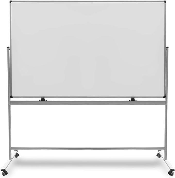 Tableau Blanc Mobile et Magnétique à Roulette