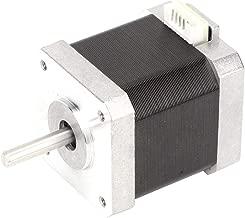 Stepper Motor, 24V/1.8A Nema 17 Composite 2 Phase Stepper Motor 0.5NM 1.8° Industrial Control Stepping Motor