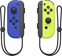 Nintendo Official Switch Joy-Con Pair - Neon Blue/Neon Yellow (Switch)