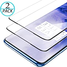 QUESPLE OnePlus 7 Pro Screen Protector, [2-Pack] Tempered Glass Screen Protector [9H Hardness][Case Friendly][Anti-Scratch][Bubble Free][High Definition][Ultra Clear] for OnePlus 7 Pro