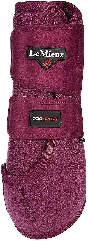 LeMieux ProSport Support Boots Plum XS