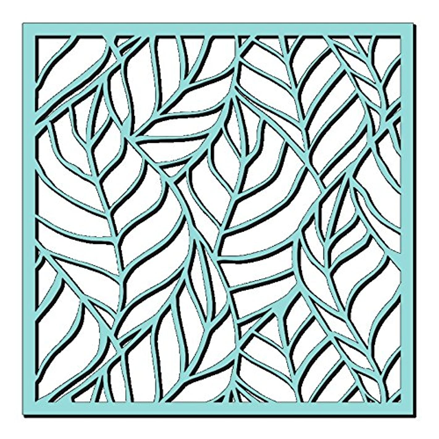Sweet Dixie Skeleton Leaves Stencil, 6 x 6-Inch,SDST0019