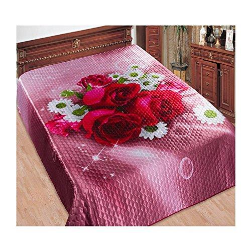 Tagesdecke Bettüberwurf 3D - Milana, 230х250 cm, 100% Polyester