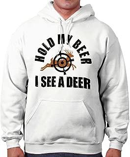 Hold My Beer I See A Deer Hunting Season Hoodie
