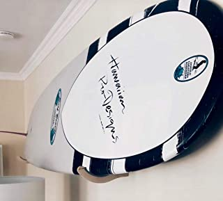 Premium Wooden Surfboard Display Rack | Sturdy Surf Board Wall Mount for Indoors and Outdoors