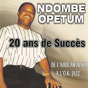 20 ans de succès