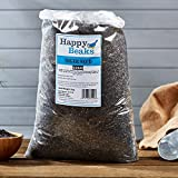 Happy Beaks Niger Seed Wild Bird Food (12.75kg) High Energy Premium Nyger/Nyjer/Thistle Feed For Finches And Small Wild Birds