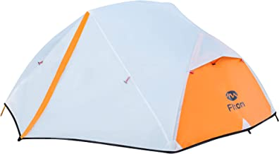 Fltom 2 Person Camping Tent, Ultralight Backpacking Tent for 3 Seasons, Easy Setup Double Layer Outdoor Tent for Hiking Mo...