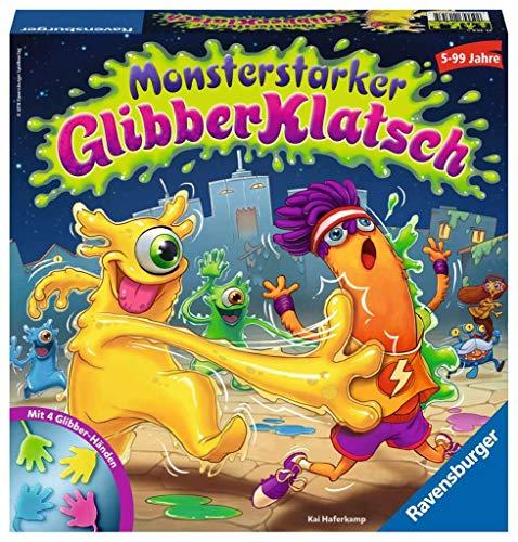 Ravensburger Kinderspiel 21353 - Monsterstarker Glibber-Klatsch - Spiel für Kinder ab 5 Jahren