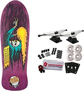 Santa Cruz Skateboards Complete Obrien Reaper Purple Old School Re-Issue