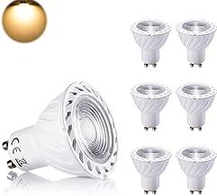 par luceco 5 Ampoules LED WarmGlow Lampes GU10 Dimmable Spot 5W Blanc Chaud /Économie d/énergie Remplacement des Lampes Halog/ènes 50W Compatible avec les Interrupteurs d/éclairage Gradateurs LED