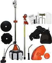 ZXMOTO Multi Brush Cutter 4 in 1 Hedge Trimmer 52cc Straight Shaft Grass Cutter String Trimmer Gasoline Brush Cutter