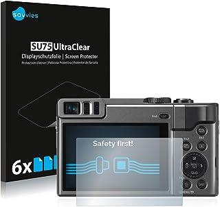 2x protector de pantalla para Panasonic Lumix DMC-TZ60 Mate Película De Protección Anti