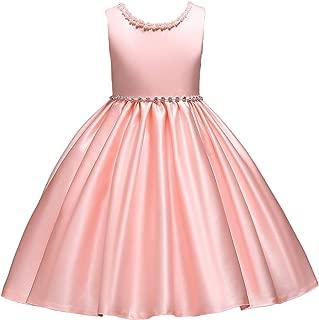 Little Girl Tutu Flower Petals Bow Dress Chiffon Princess Dresses for Wedding Party