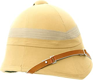 British P-1895 Khaki Victorian Colonial Pith Helmet