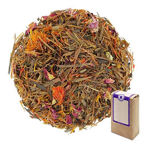 Núm. 1375: Té de hierbas 'Amor de lapacho' - hojas sueltas - 250 g - GAIWAN GERMANY - lapacho de América del Sur, pétalos de rosa, cártamo (alazor), clavel, vainilla, naranja