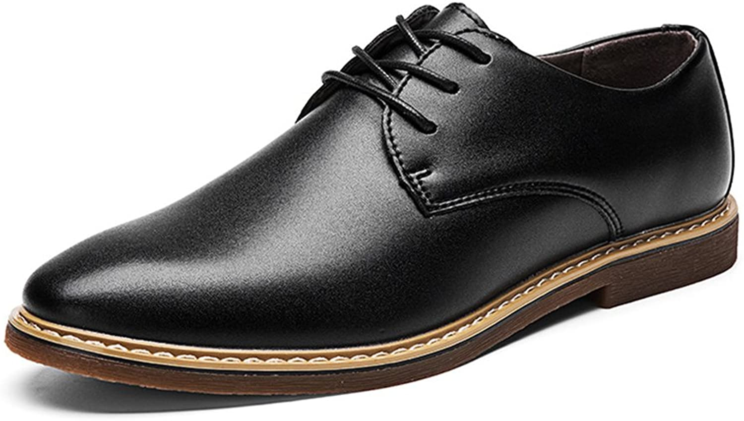 Giles Jones Mens Durable Microfiber Oxford shoes Outdoor Classic Casual shoes