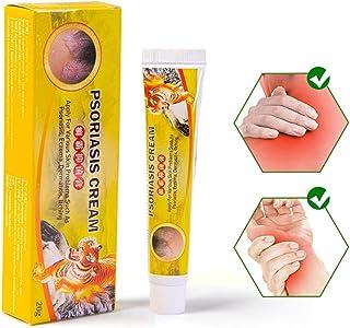 DUOCACL Crema Natural para la Psoriasis de la Piel Reduce la picazón Adecuado para Piel Seca Eczema y Psoriasis