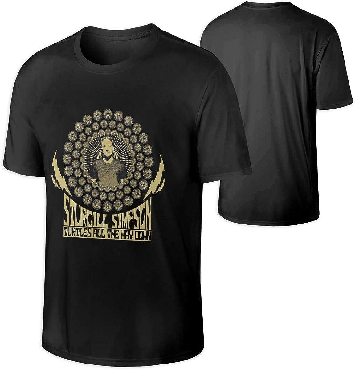 Sturgill Simpson T Shirt Girls Long Sleeve Tee Stylish Crew Neck Tshirts